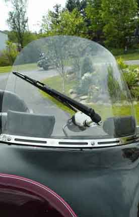 Peerclear Motorcycle Windshield Wiper